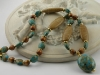 Wood Jasper and Mosaic Turquoise